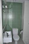 lavabo i dutxa de l'habitació